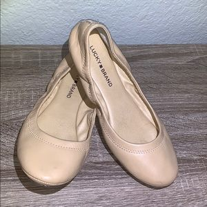 Lucky Brand Ballet flats size 8w